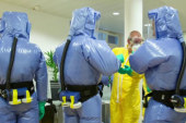 Mobilizing the military against Ebola