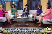 Hosts attack young voters