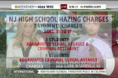 Seven high school students charged in hazing