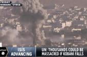 UN warns of massacre if Kobani falls to ISIS