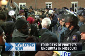 Protests ramp up in Missouri