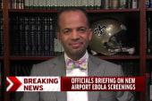 Airport Ebola screenings just a 'firewall'?