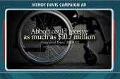 Is Wendy Davis' wheelchair ad working?