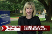 Second Ebola case confirmed in Dallas