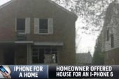 Detroit homeowner swaps house for iPhone 6