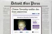 Toddler dies from enterovirus