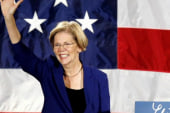 Elizabeth Warren hits Obama on Wall Street