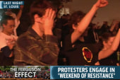 'New day' of civil disobedience in Ferguson