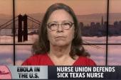 Nurse union defends Dallas Ebola patient