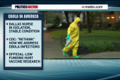 Is Ebola starting to spread in the US?