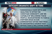Pope calls for more compassion towards gays