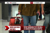 Patient being tested for Ebola in Kansas