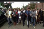 Civil disobedience spreads beyond Ferguson