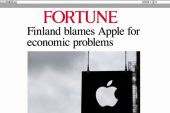 Apple to blame for economic woes, says...