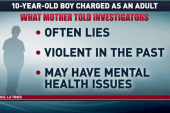 Should a 10-yr-old be tried as an adult?