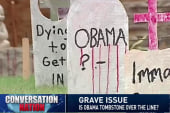 Does this Obama tombstone go too far?