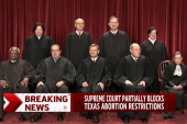 Supreme Court puts Texas abortion law on hold