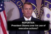 Boehner's worried about 'frivolous lawsuits?'