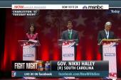 Debate night: Benghazi, ISIS - and a fan?