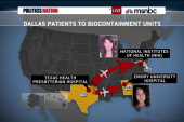 Nurse with Ebola heads to Maryland