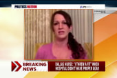 Dallas nurse: 'We never talked about Ebola'