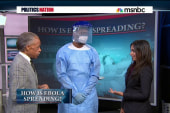 Here's how Ebola spreads among health workers