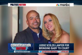 Judge scolds attorney for bringing baby to...