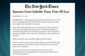 SCOTUS: Texas voter ID law can go ahead