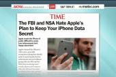 Apple slammed by NSA, FBI over data...