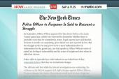 Report: Ferguson officer recounts a ...