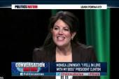 Lewinsky: 'I fell in love with my boss'