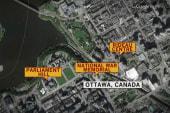 Reporter describes 'scary' scene in Ottawa