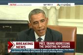 Obama offers condolences to Canada