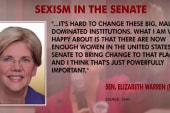 Warren: I experience gender bias in Congress