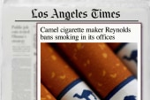 Cigarette brand: No more smoking in our...