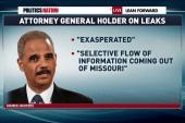 Justice Department condemns Ferguson leaks