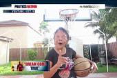 Grandma challenges NBA star to basketball...