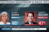 Gubernatorial race close in key state