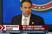 Cuomo: Increased Ebola screening for New York