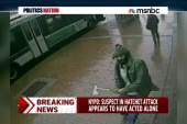 NYPD: Hatchet incident was 'a terrorist...