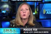 Maggie Fox: Ebola won't spread in NY