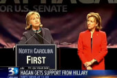 Hillary Clinton stumps for Kay Hagan