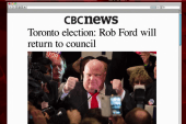 Rob Ford returns to politics, but not as...