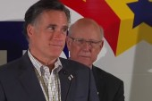 Romney back criticizing Obama on stump