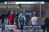 Nurse skips Ebola quarantine and rides a bike