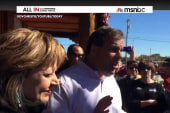 Christie: No regrets for shouting down...