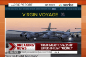 Virgin Galactic ship suffers in-flight...