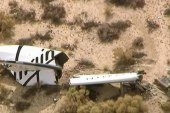 Commercial spaceship crashes in California
