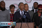 Rev. Al Sharpton urges peace in Ferguson