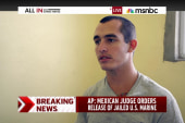 Jailed US marine released from Mexican prison